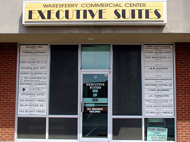 Executive Suites Front Entrance