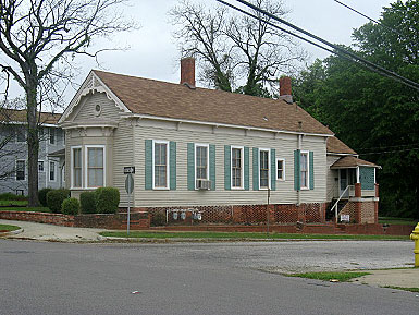 Historical House at Hull and Grove Streets